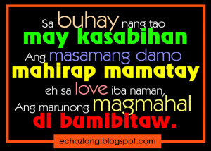 Mga Kasabihan SA Tagalog