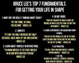 Bruce Lee's Top 7 Fundamentals