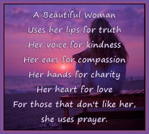 Beautiful Woman Quotes B