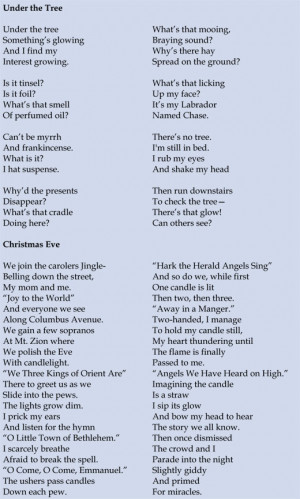 Missing You Christmas Poems