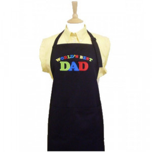 Worlds Best Dad Special Fathers Day BBQ Apron