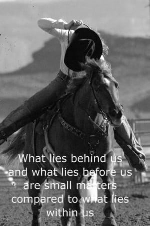 Barrel Racing Quote Image