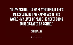 Love Acting Quotes