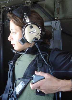 Paula Broadwell Helicopter...