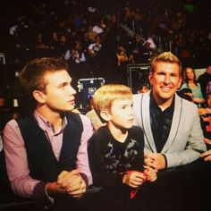 Todd Chrisley With Chase & Grayson Chrisley .... Chrisley Knows Best ...