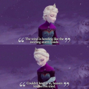 frozen elsa movie disney princess quote: Frozen Elsa, Disney Quotes ...