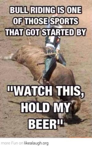 How Bull Riding Started