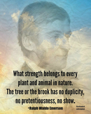 Ralph Waldo Emerson 'nature quotes' printable 8x10.Philosophy quotes ...