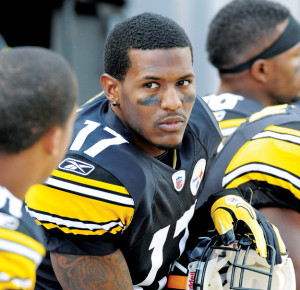 Steelers wide receiver Mike Wallace was made for television.