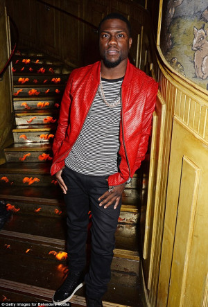 Good luck, my friend': Kevin Hart gets ready to turn up the heat as ...
