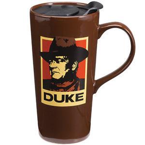 NEW-John-Wayne-The-Duke-A-Mans-Gotta-Do-Quote-Ceramic-Handled-Travel ...