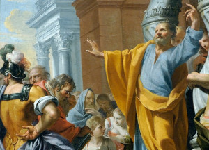 Apostle Peter And Christ