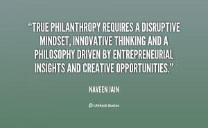 Philanthropy Quotes
