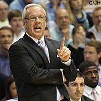 CHAPEL HILL, N.C. --- North Carolina head coach Roy Williams spoke ...