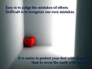 Don't Judge me or anyone... You are not GOD!