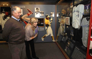 Pat and Doris Gillick eye Hall of Fame exhibit featuring the Toronto