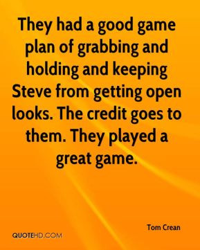 Game plan Quotes