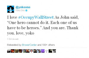 Twitter Occupy Wall Street Quotes
