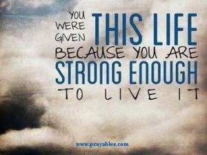 Prayer Quotes Strong Men