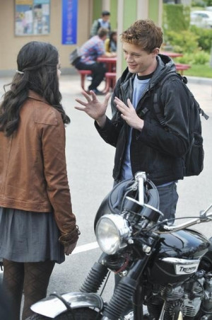 Still of Vanessa Marano and Sean Berdy in Switched at Birth (2011)
