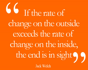 Rate of Change – Jack Welch