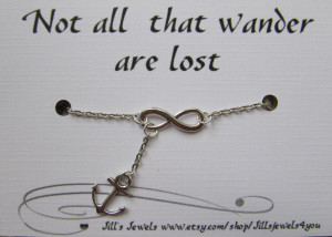Anchor Quotes Friendship Infinity and anchor charm