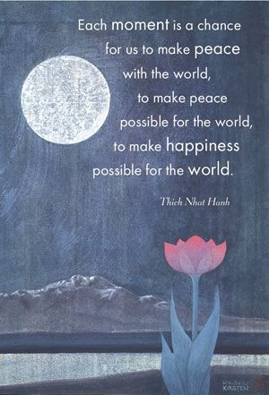 Thich #Nhat #Hanh #Peace #quote