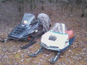 Polaris First Snowmobile Ever Made
