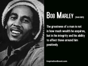 Bob Marley Greatness Quotes