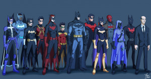 art batman design animation robin fan art dick grayson Batgirl bruce ...