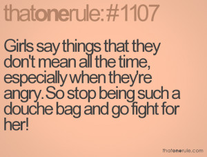 Quotes About Being Angry So stop being such a douche