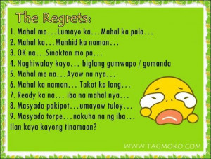 Happy Love Quotes And Sayings Tagalog #9
