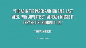 Yakov Smirnoff Quotes