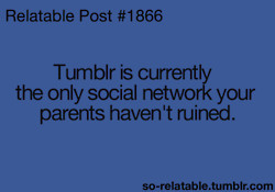 tumblr mom dad twitter facebook parents Social Network tumblr post