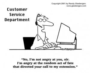 Customer Servicer Cartoons, rude customer service