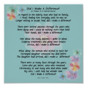 Retirement Poems For Nurses
