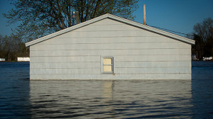 Flooding damage can be very severe