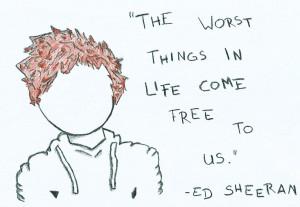 ed sheeran wall quotes tumblr