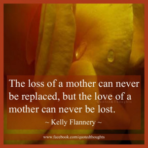 The Loss Mother Can Never...