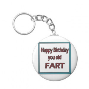 Birthday Quotes Keychain Designs