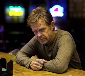"Actor William Macy on the bar set of ""Shameless"""