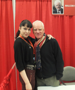 malcolm mcdowell quotes evelyn reid montreal - Photo © Evelyn Reid