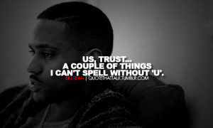 rapper-big-sean-quotes-sayings-trust-rap-quote.png