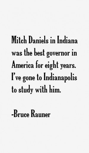 Mitch Daniels in Indiana was the best governor in America for eight ...