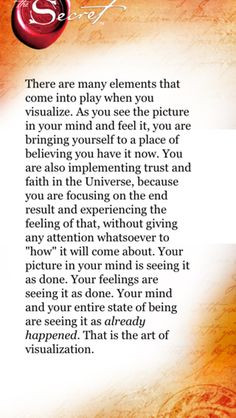 ... great days in my work environment. The Secret ~ Law of Attraction