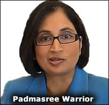 Padmasree+warrior+compensation