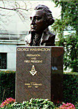Georges Washington le franc-maçon et premier président des Etats ...
