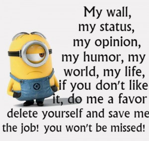 Funny Minion Quotes Of The Day 296