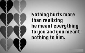 Sad Break Up Love Quote