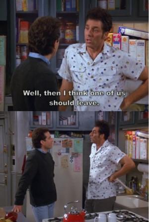 Seinfeld Jerry & Kramer- Stand off